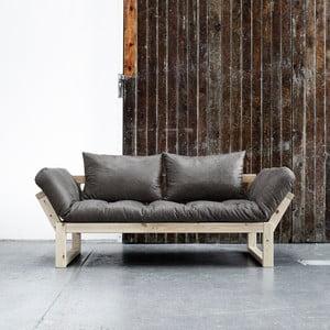 Sofa Karup Vintage Edge Natural/Black
