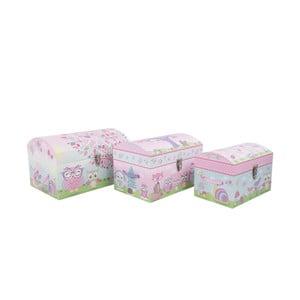 Zestaw 3 pudełek Owls