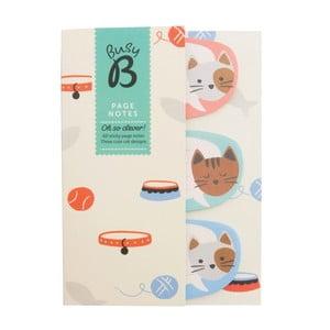 Karteczki samoprzylepne Busy B Page Notes Cat