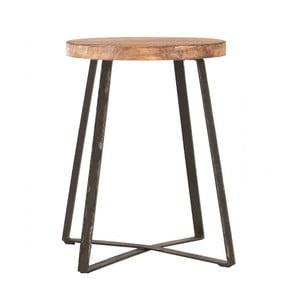 Stolik z blatem z drewna orzecha indhouse Tucson