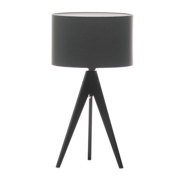 Lampa stołowa Artist Grey/Black, 65x33 cm