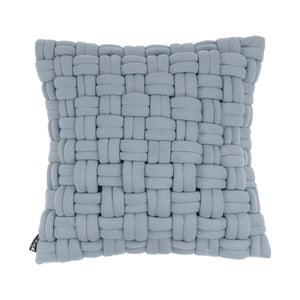 Niebieska poduszka ZicZac Clusp, 45x45 cm