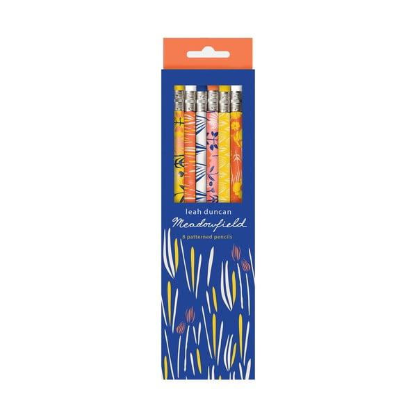 Zestaw ołówków Galison Mudpuppy Meadowfield,8 sztuk