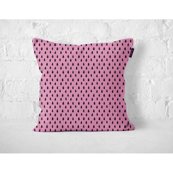 Poduszka Pink Drops, 40x40 cm