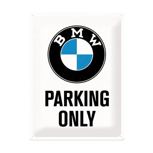 Tabliczka blaszana BMW Parkings, 30x40 cm