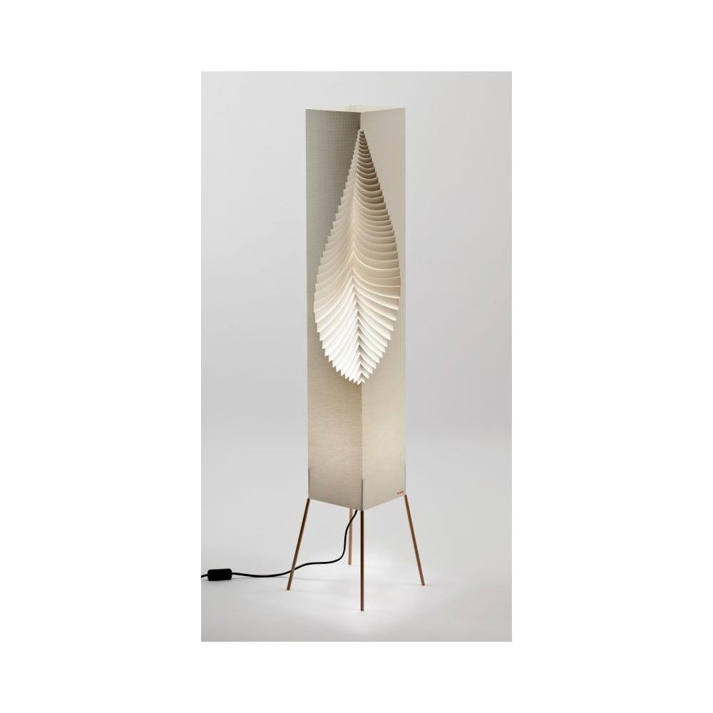 Lampa dekoracyjna MooDoo Design Leaf Organic, wys. 122 cm