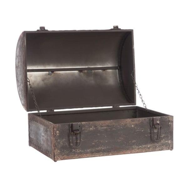 Skrzynia Antique Metal Trunk, 38x27x25 cm
