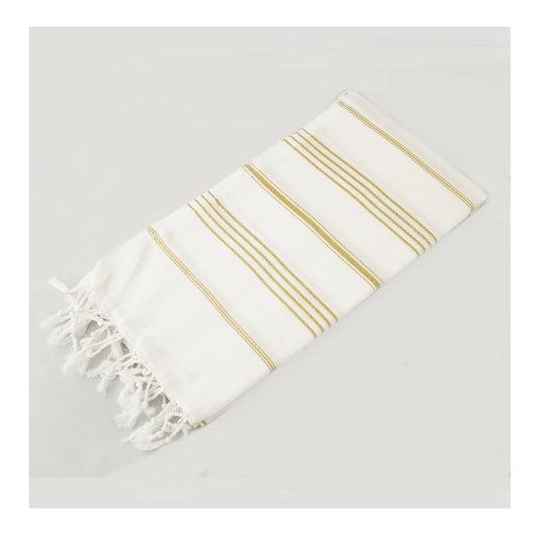 Ręcznik hammam Classic Style Gold, 100x180 cm