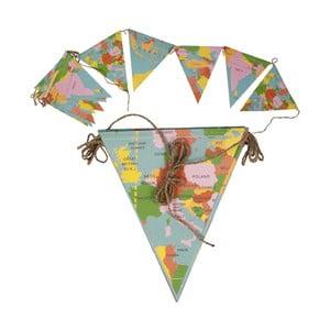 Girlanda Rex London World Map