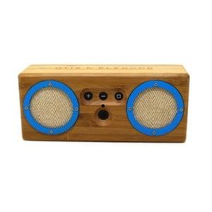 Przenośny bambusowy głośnik Power Blue Bongo