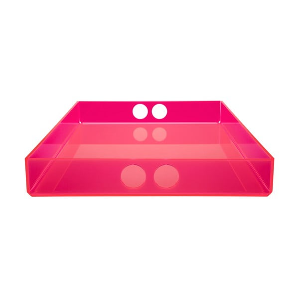 Taca Tray Pink, 22x31 cm