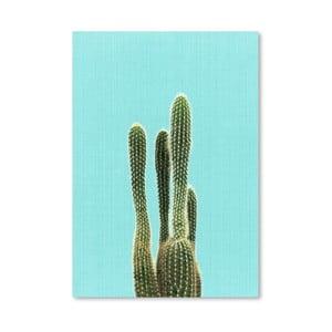 Plakat Cactus On Blue