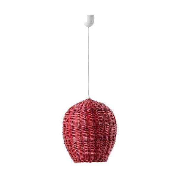 Lampa wisząca Egg, 22 cm, czerwona