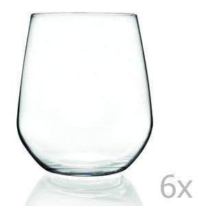 Zestaw 6 szklanek RCR Cristalleria Italiana Calandra