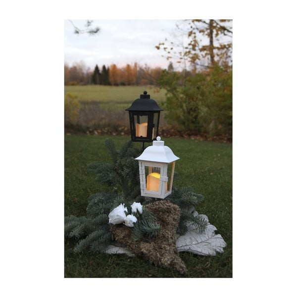 Lampion ogrodowy LED z wymienianą końcówką Best Season White Ball