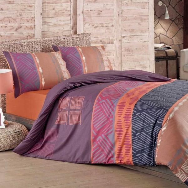 Komplet pościeli Irem Purple, 140x200 cm