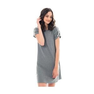 Szara sukienka Lull Loungewear Saint Jean, rozm.L