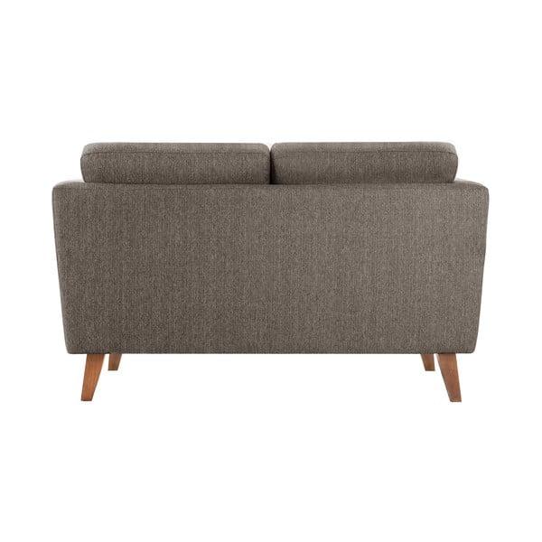 Orzechowa sofa dwuosobowa Jalouse Maison Elisa