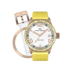 Zegarek damski Marc Coblen z dodatkowym paskiem i obręczą P26