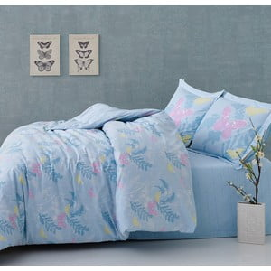 Pościel Blue Butterflies, 160x220 cm