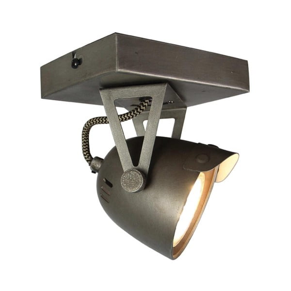 Szara lampa sufitowa LABEL51 Spot Moto Cap Uno