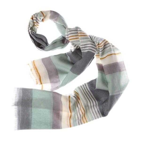 Szalik Bold Stripe Grey, 180x70 cm