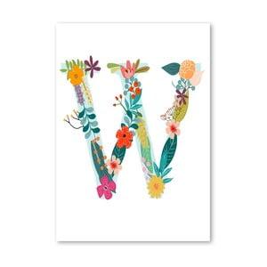 Plakat (projekt: Mia Charro) - W