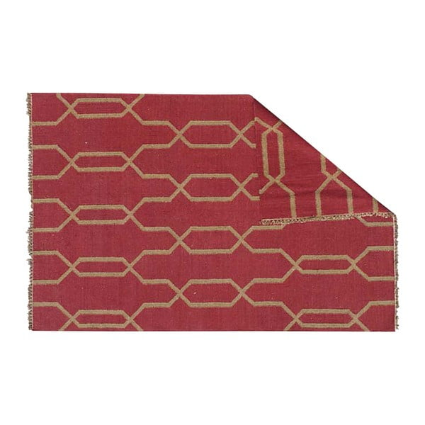 Ręcznie tkany dywan Kilim D no.743, 140x200 cm