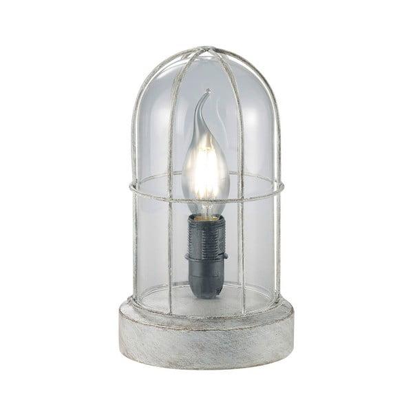 Lampka stołowa Birte, szara