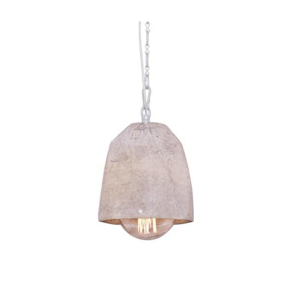 Lampa wisząca z marmurowym abażurem Fesh, 15 cm