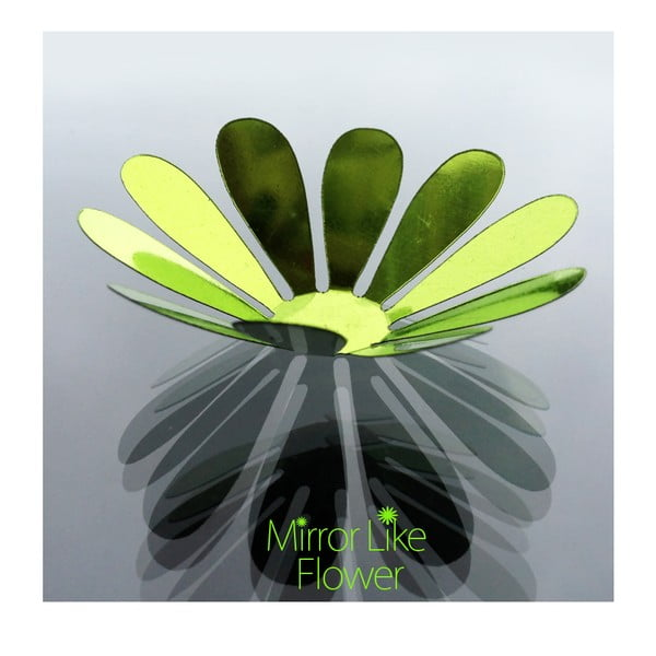 Naklejka 3D Ambiance Flowers Chic Green