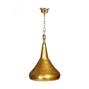Lampa wisząca w kolorze złota Denzzo Hanif