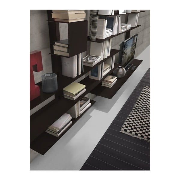 Biblioteczka Zefiro III Rust