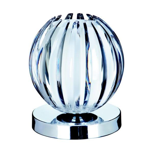 Dotykowa lampa stołowa Searchlight Touch, przezroczysta