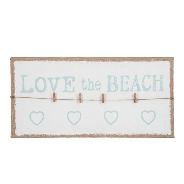 Tablica na wiadomości Love Beach, 60x30 cm