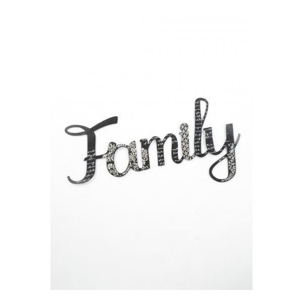Napis dekoracyjny Family