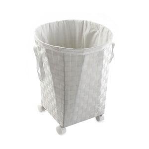 Koszyk na kółkach Ruedas, biały
