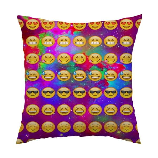 Poduszka Emojis, 40x40 cm