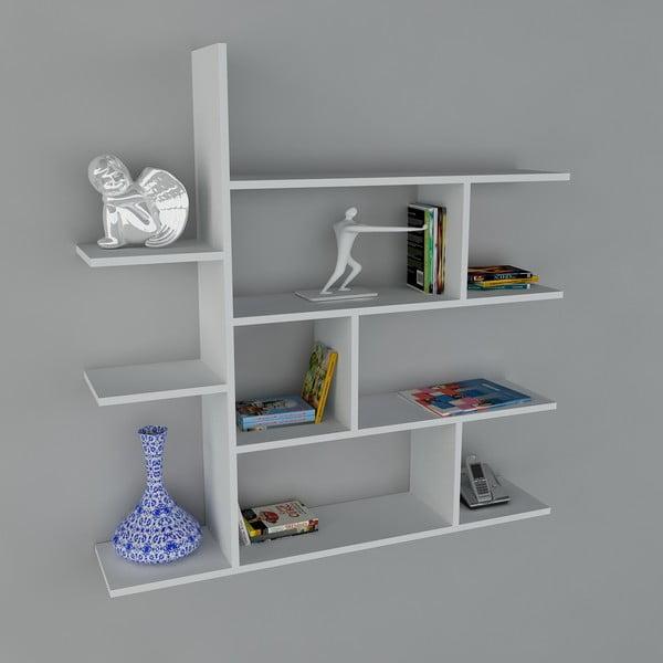 Półka Motif Book White, 22x120x121,8 cm