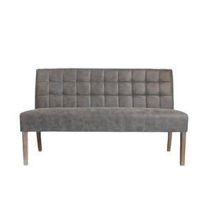 Beżowoszara ławka 3-osobowa LABEL51 Sem
