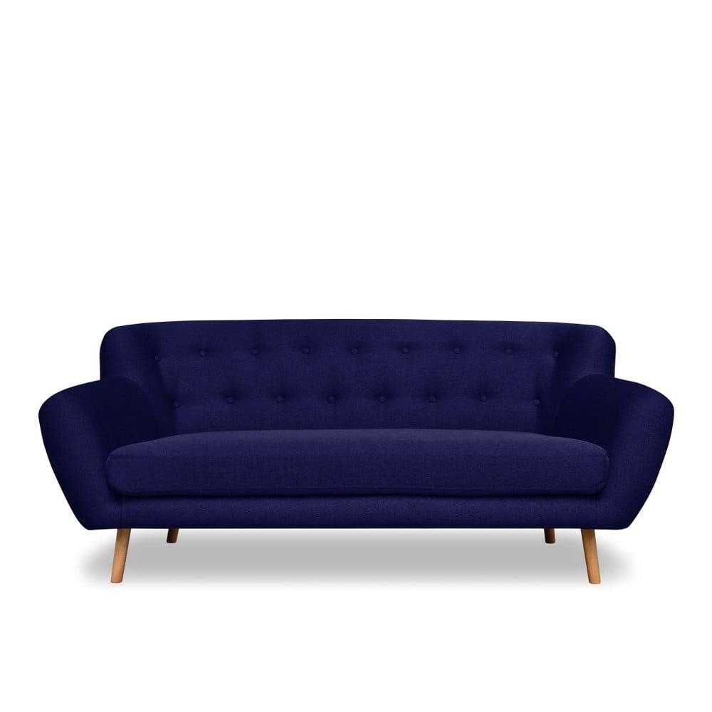 Granatowa sofa Cosmopolitan design London, 192 cm