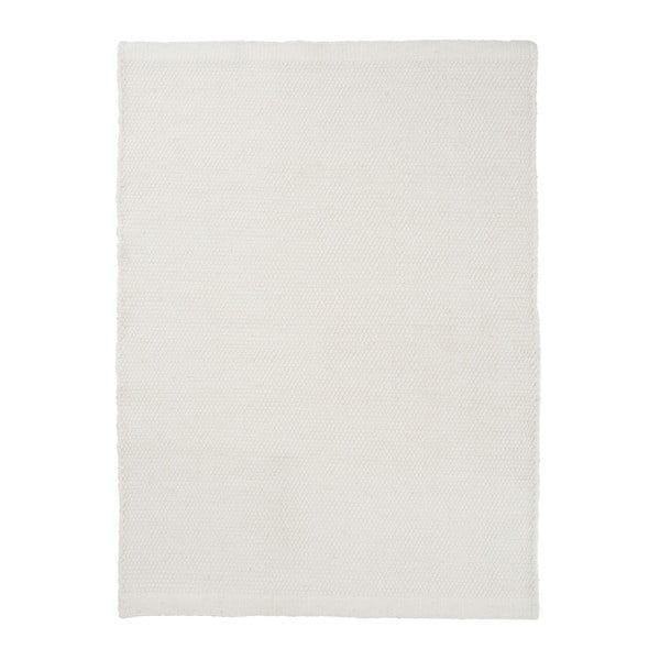Wełniany dywan Bombay White, 160x230 cm