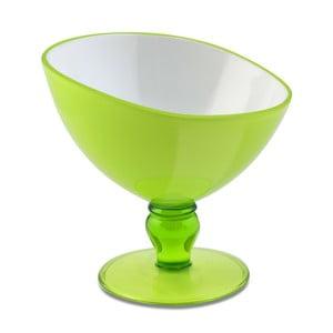 Zielony pucharek deserowy Vialli Design Livio, 180 ml