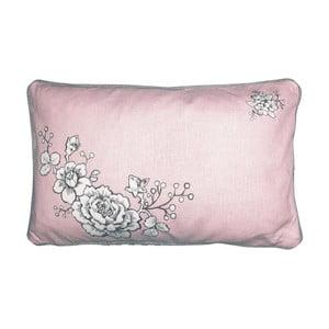 Różowo-szara poszewka na poduszkę Green Gate Ella, 30x50 cm