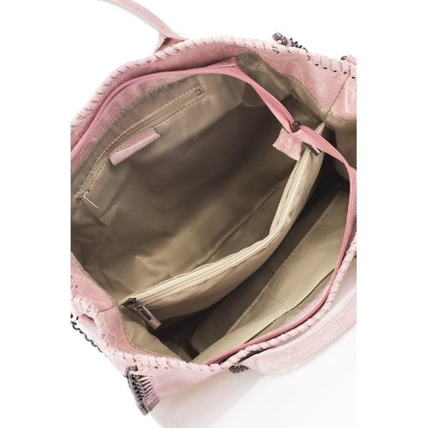 Skórzana torebka Markese 1169 Rose