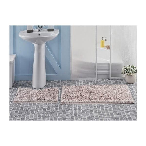 Zestaw 2 dywaników łazienkowych Novem Powder