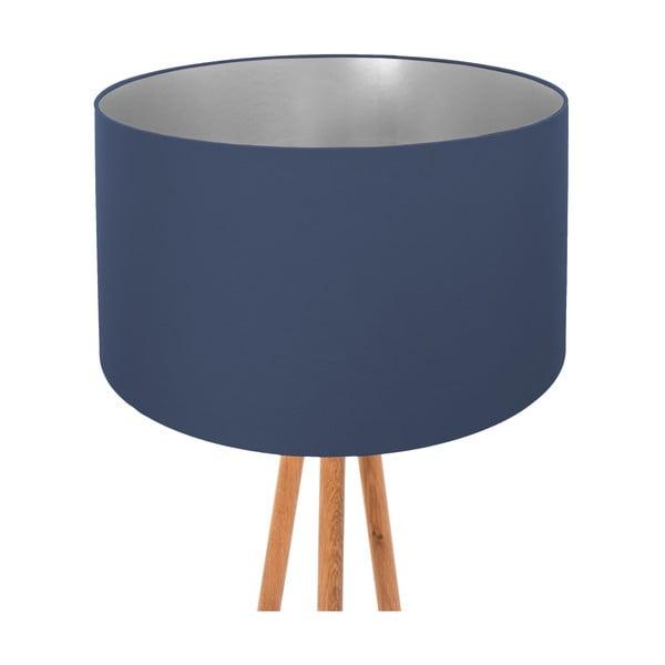 Lampa stojąca Dark Blue Silver
