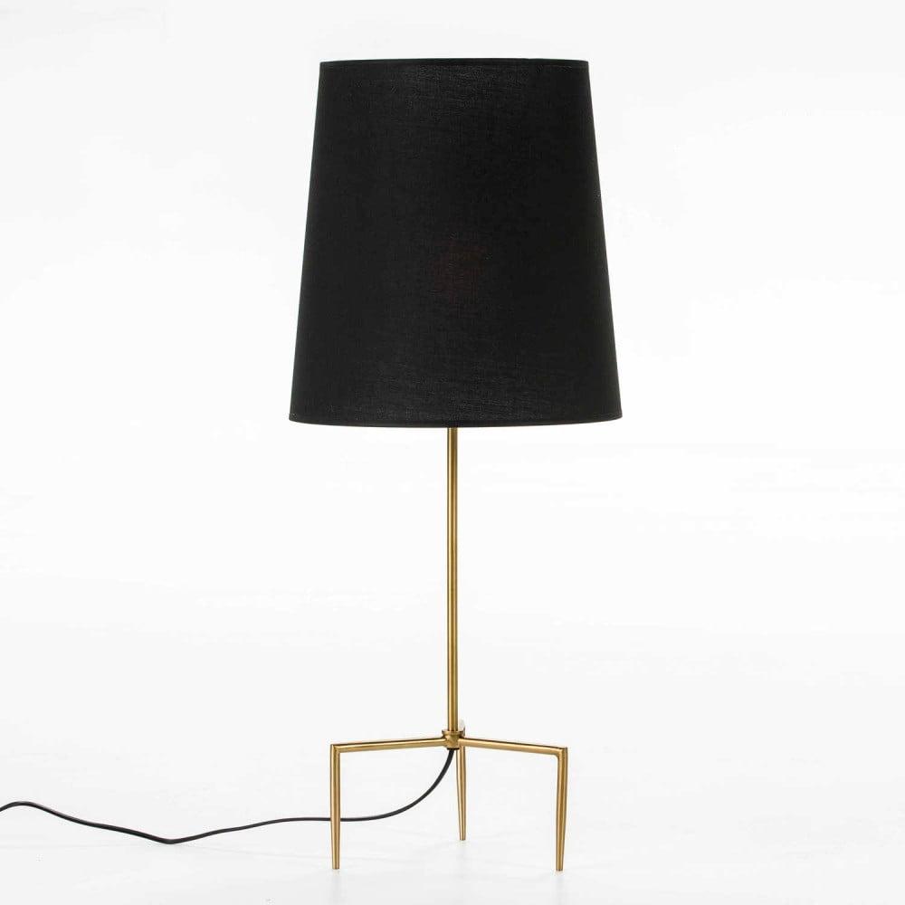 Lampa stołowa w kolorze złota bez abażuru Thai Natura, wys. 46 cm