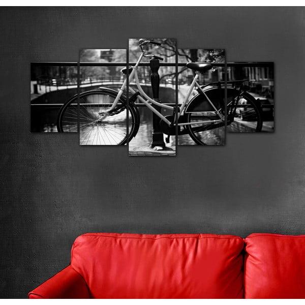 Wieloczęściowy obraz Black&White no. 58, 100x50 cm