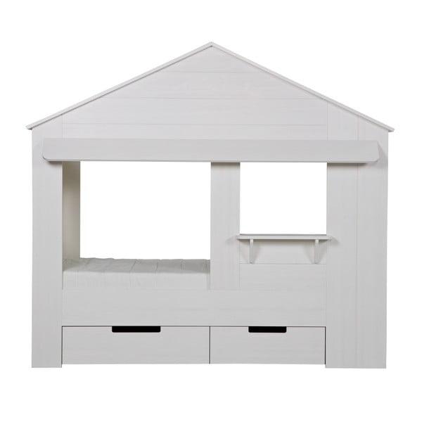 Łóżko dziecięce Huisie, białe
